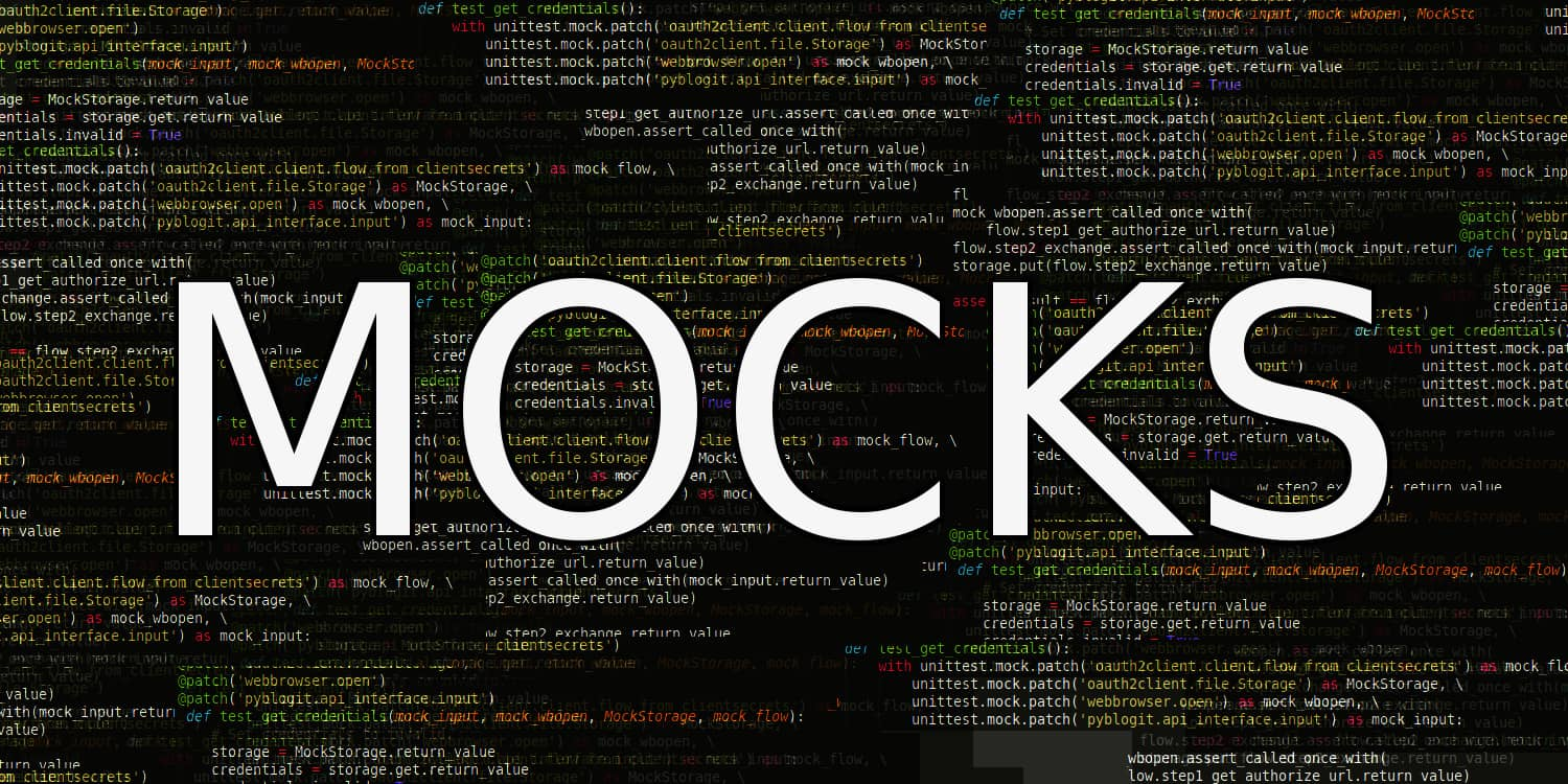 Mocking in Python - How to Bypass Expensive and External