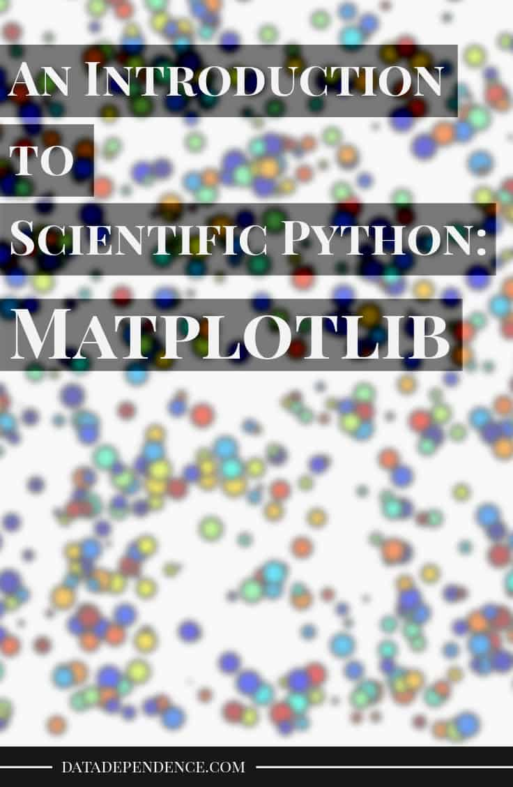 Scientific python - matplotlib