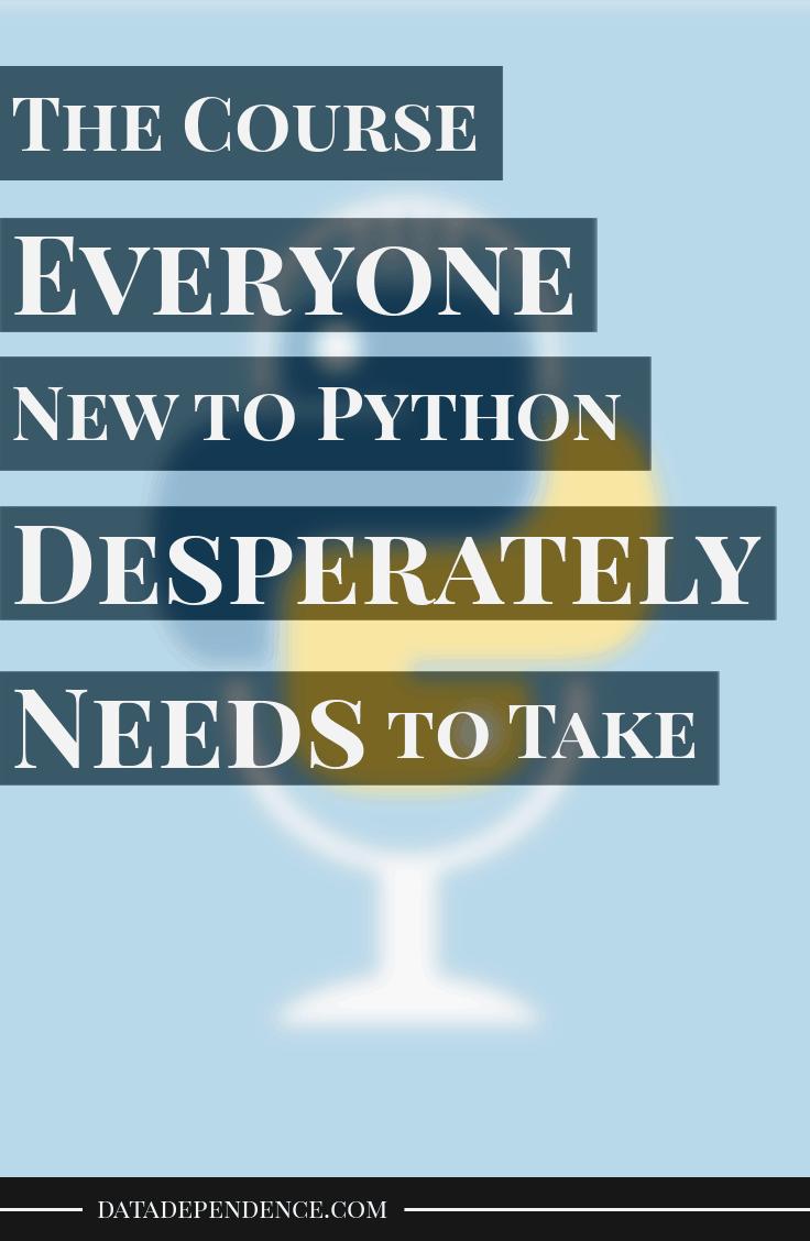 Write Pythonic Code Like A Seasoned Developer The Course Everyone